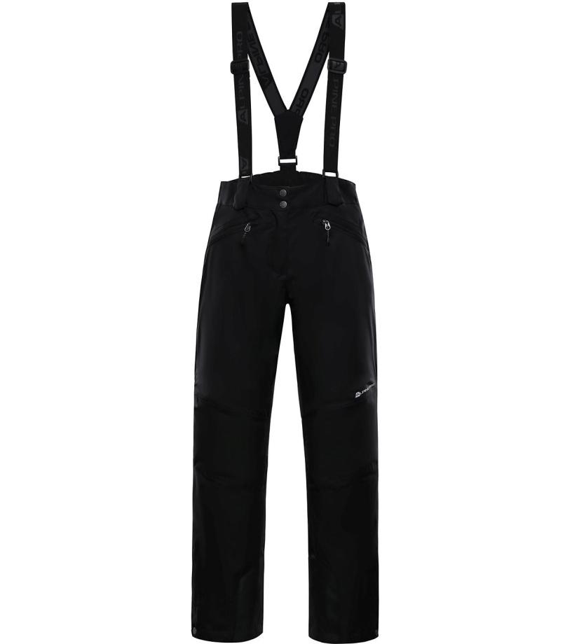 ALPINE PRO MINNIE 4 Dámské lyžařské kalhoty LPAM280990 černá