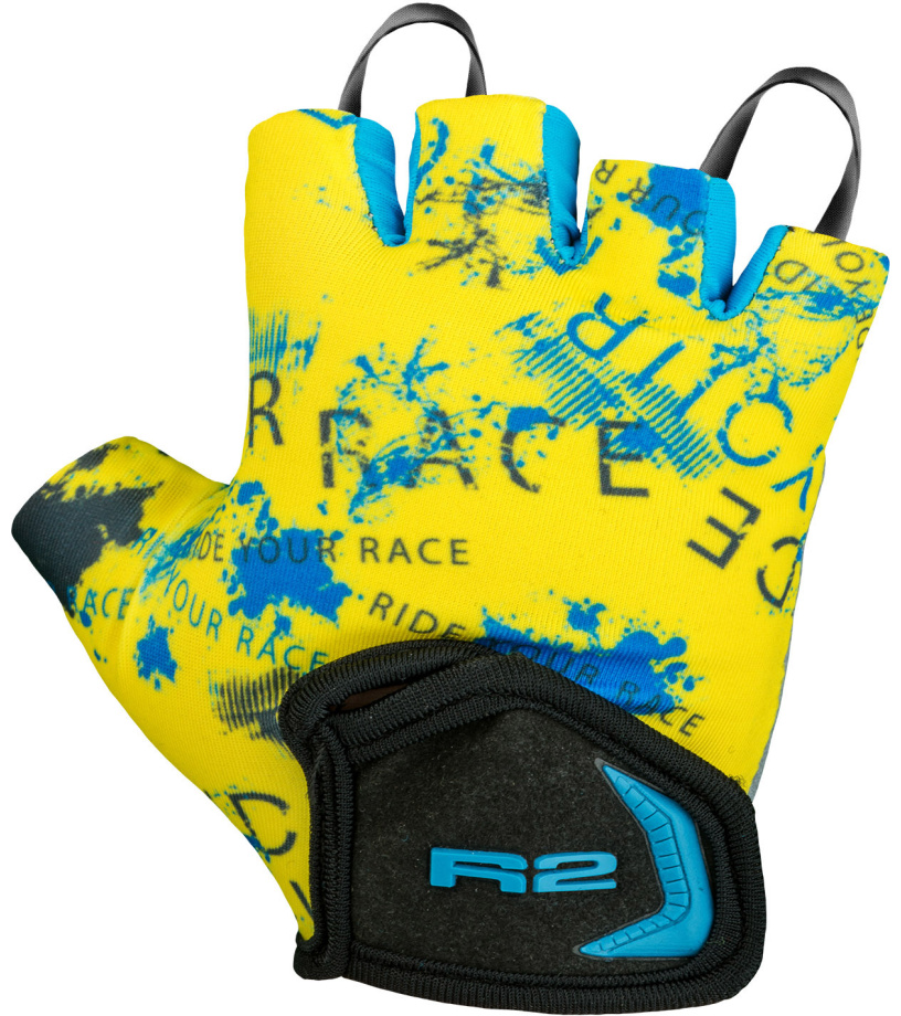 R2 Voska Dětské cyklistické rukavice ATR08Q 4Y cad68d316a