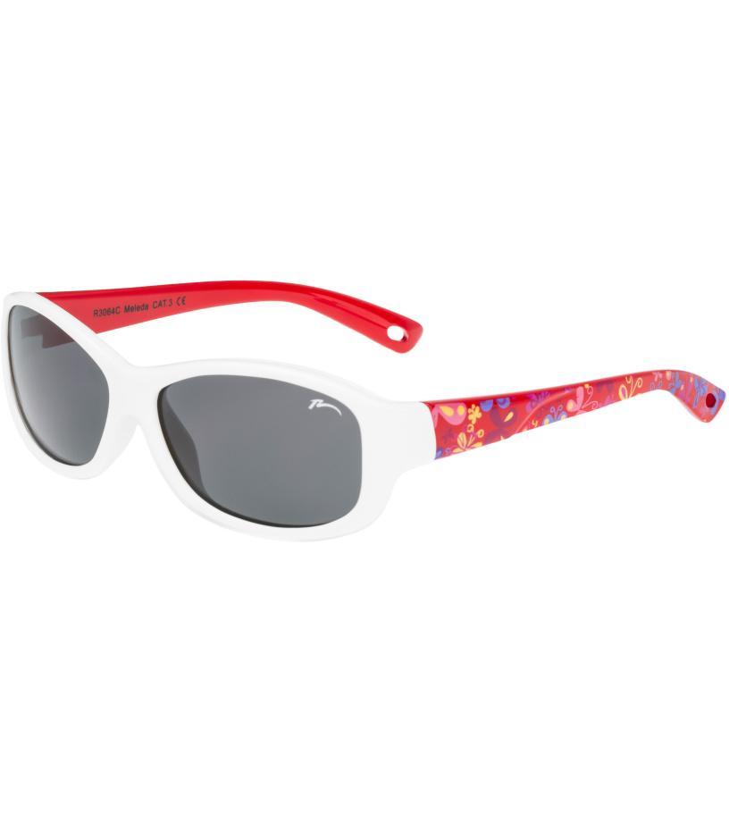 RELAX Luchu Dětské junior sluneční brýle R3064C bílá 36