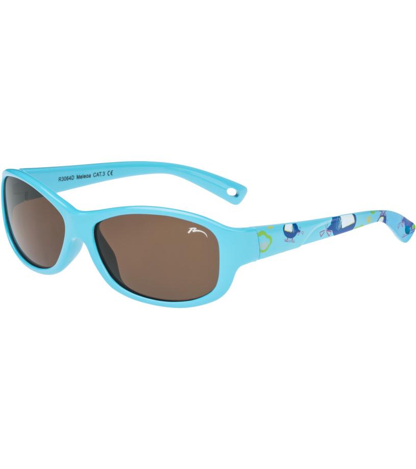 RELAX Luchu Dětské junior sluneční brýle R3064D modrá 36