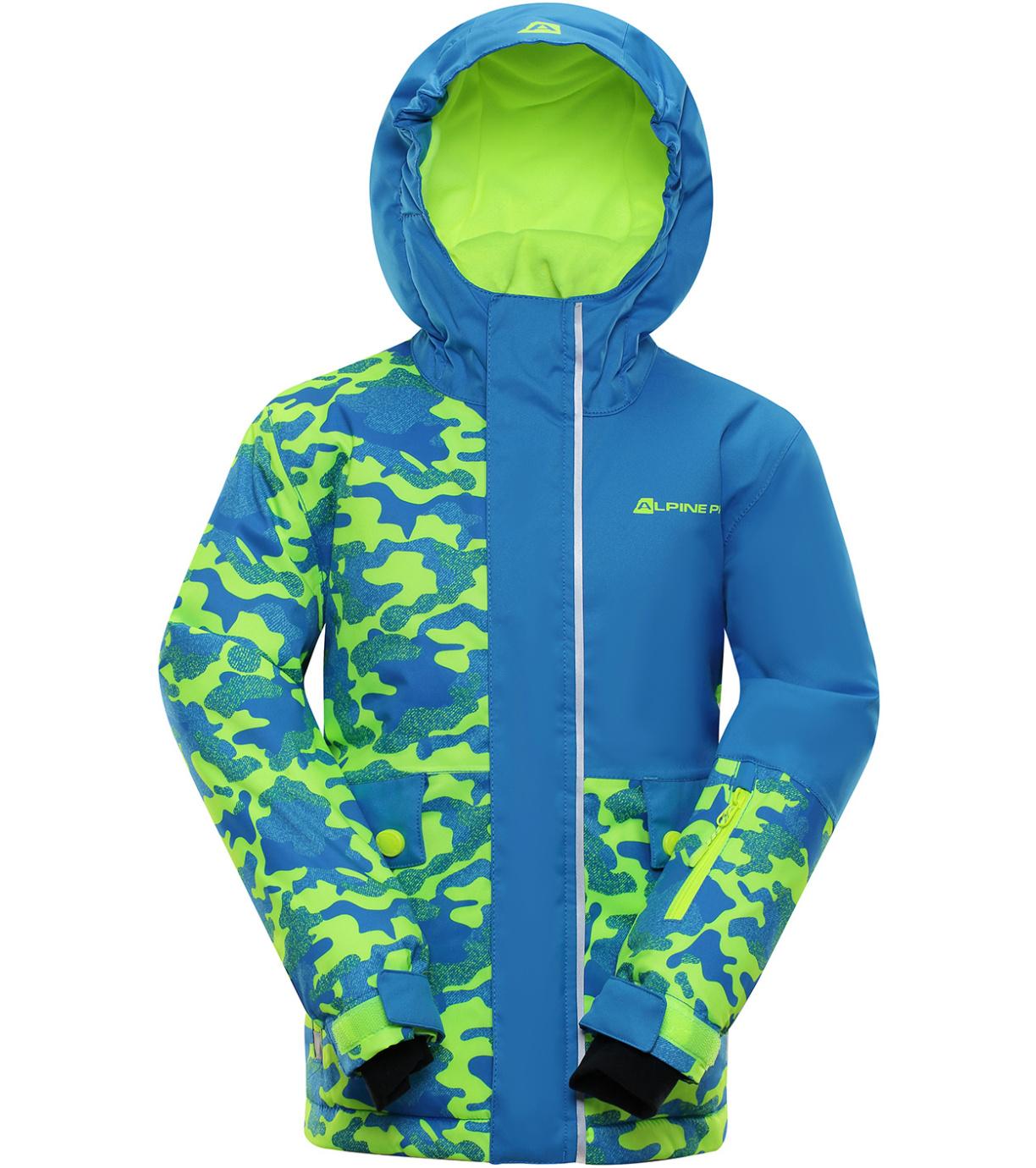 ALPINE PRO INTKO Dětská lyžařská bunda KJCP157674PB Blue aster 116-122