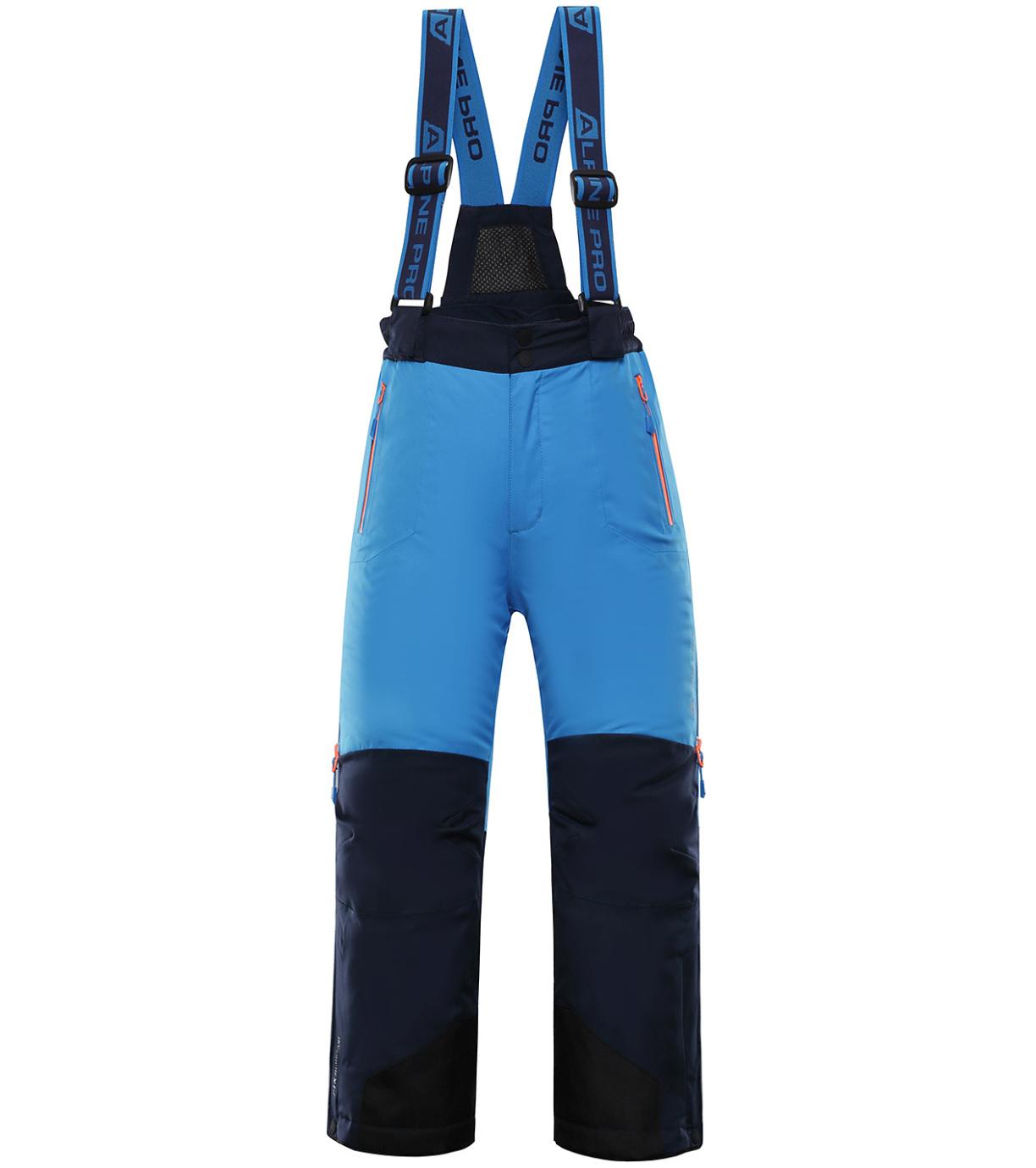 ALPINE PRO NUDDO 4 Dětské lyžařské kalhoty KPAP167674 Blue aster 128-134