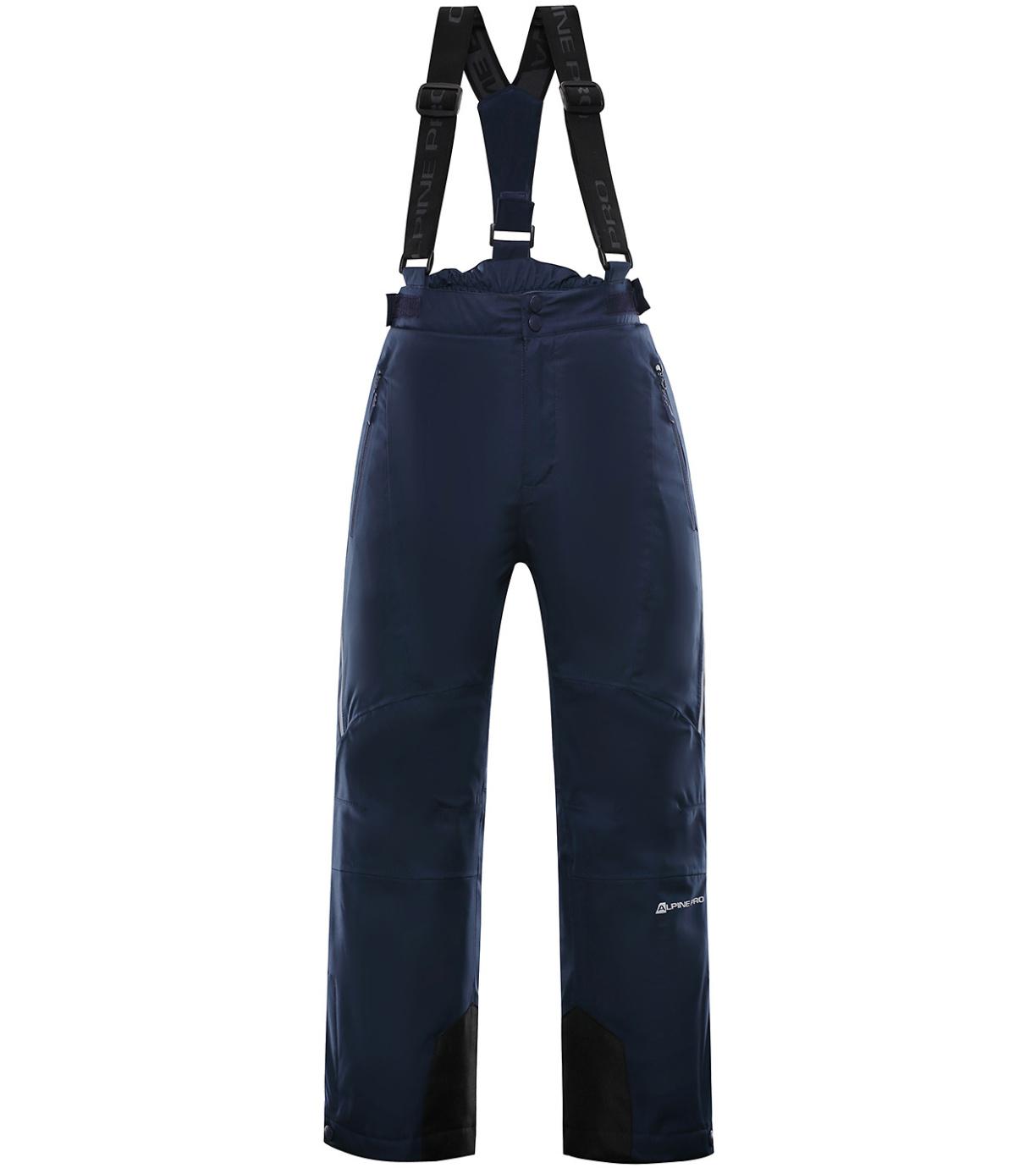 ALPINE PRO ANIKO 3 Dětské lyžařské kalhoty KPAP168602 mood indigo 128-134