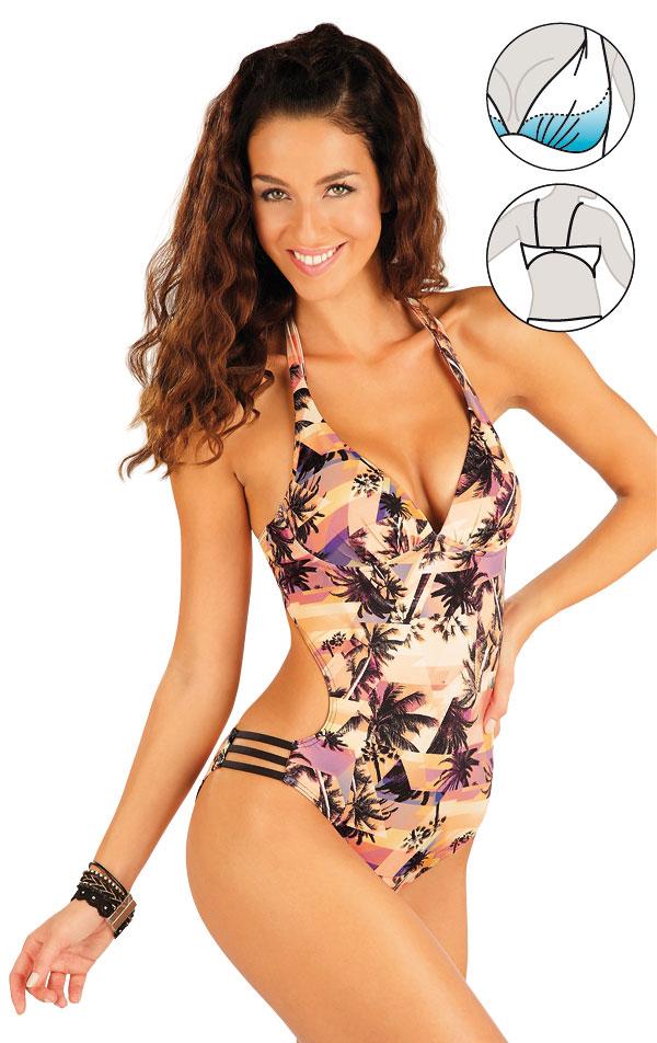 LITEX Jednodílné plavky s košíčky. 57072 38