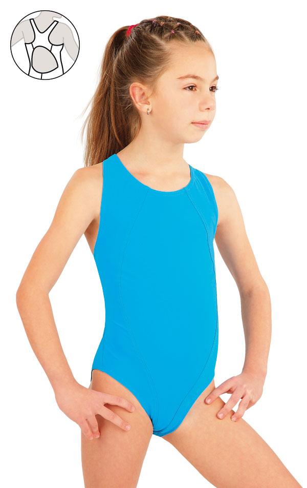 LITEX Dívčí jednodílné sportovní plavky. 57592 152