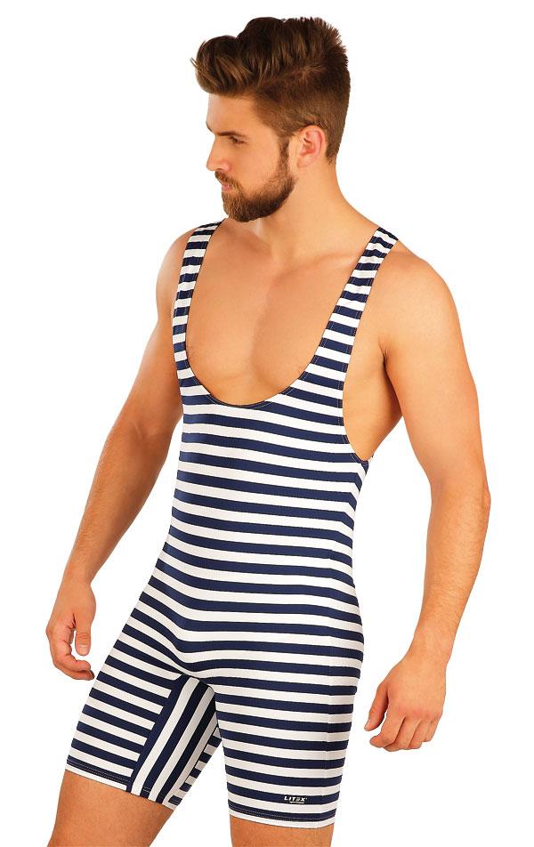 7ff50a970c2 LITEX Pánské retro plavky s kšandami. 57664 XXXL
