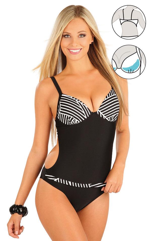 LITEX Jednodílné plavky s košíčky 57214 38