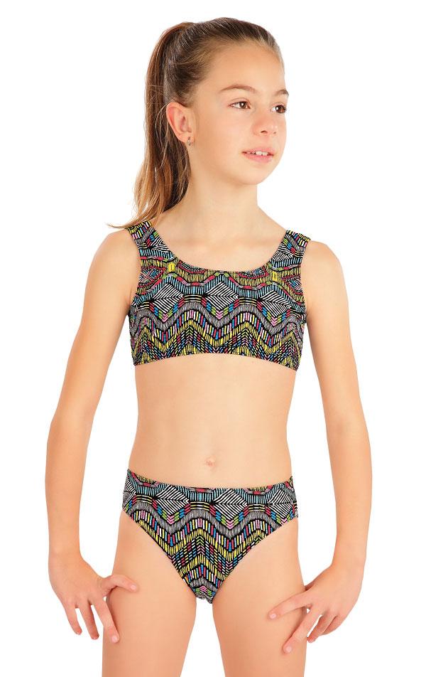 LITEX Dívčí plavky kalhotky středně vysoké 57576 146