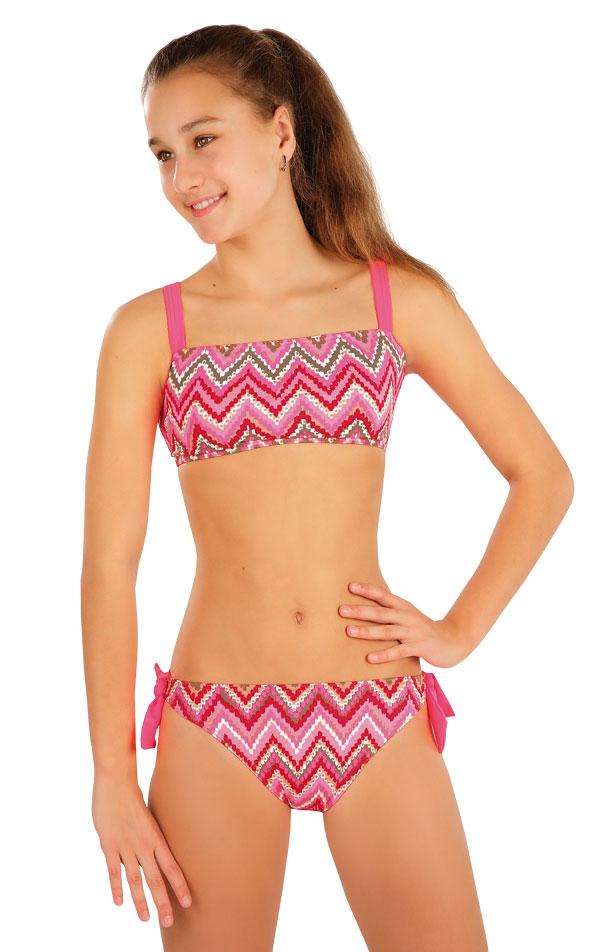 LITEX Dívčí plavky kalhotky bokové 57583 158