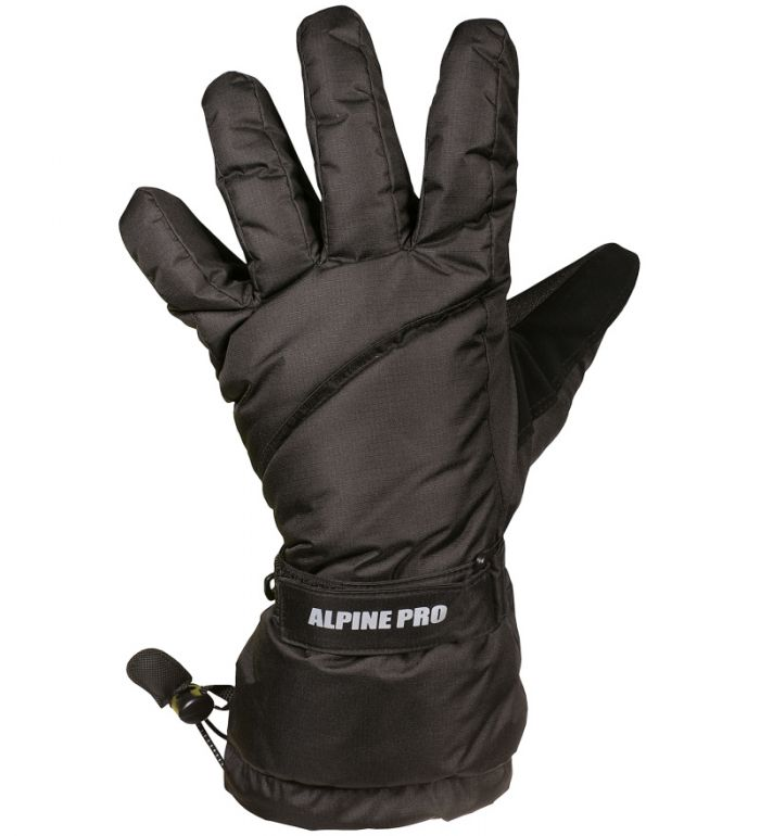 ALPINE PRO Saito Pánské rukavice 45017990A černá M