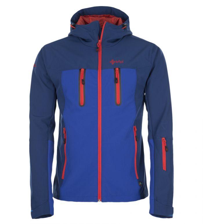 KILPI Pánská lyžařská bunda DANIEL DM0052KIBLU Modrá S