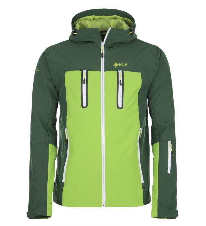 KILPI Pánská lyžařská bunda DANIEL DM0052KIKHK Khaki S