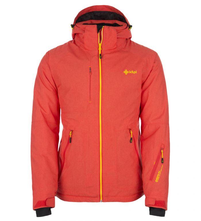 KILPI Pánská snowboardová bunda ATTILAN DM0152KIRED Červená S
