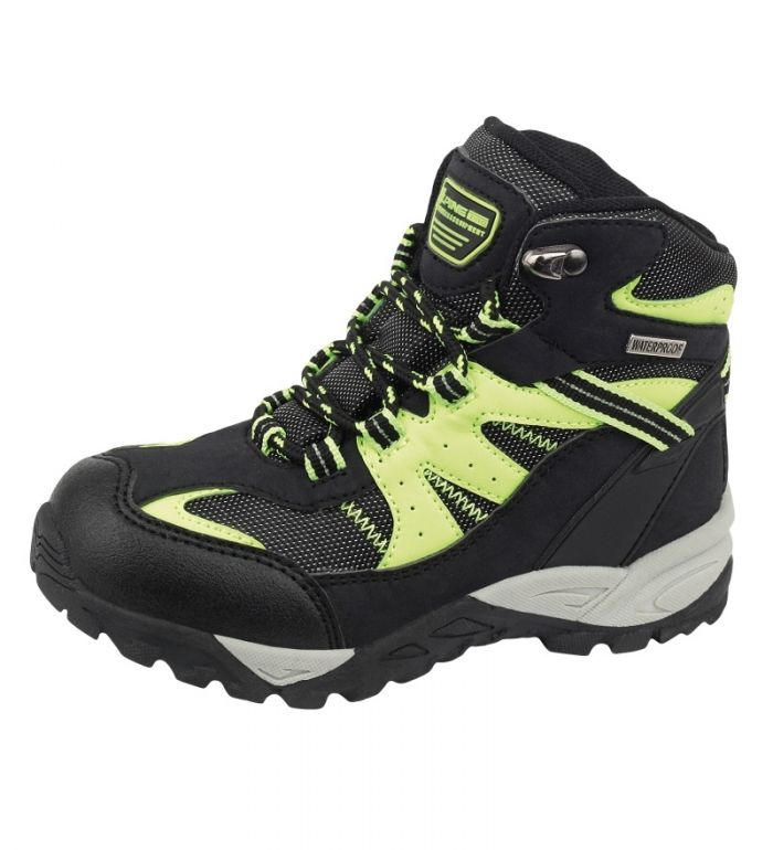 ALPINE PRO BOROTO Dětská outdoorová obuv KBTF110990 černá 28