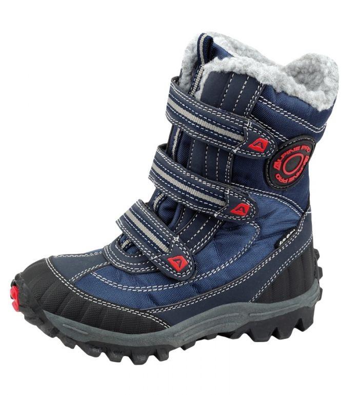ALPINE PRO KAJCO Dětská zimní obuv KBTF112602 mood indigo 25