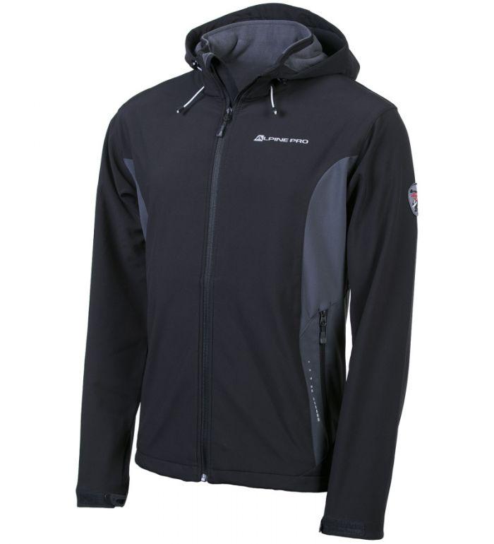 ALPINE PRO MONTROSE 2 Pánská bunda MJCF088990 černá S
