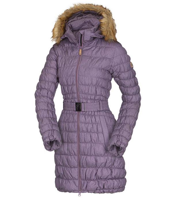 NORTHFINDER LORNA Dámský kabát BU-4428SP334 fialová S