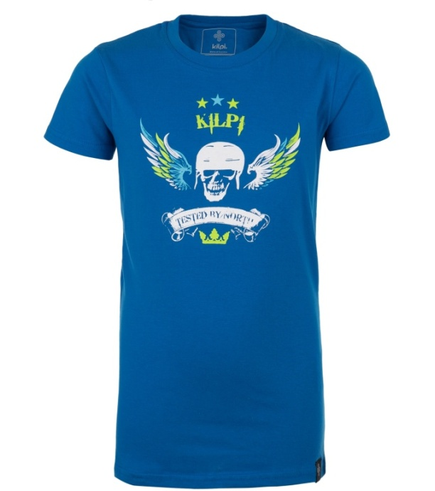 KILPI Dětské triko SKULL-JB GJ0036KIBLU Modrá 164