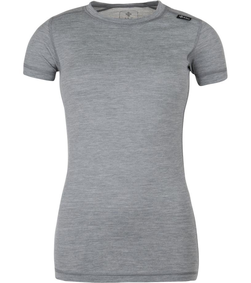 KILPI Dámské funkční triko MERIN-W GL0200KIDGY Tmavě šedá 36