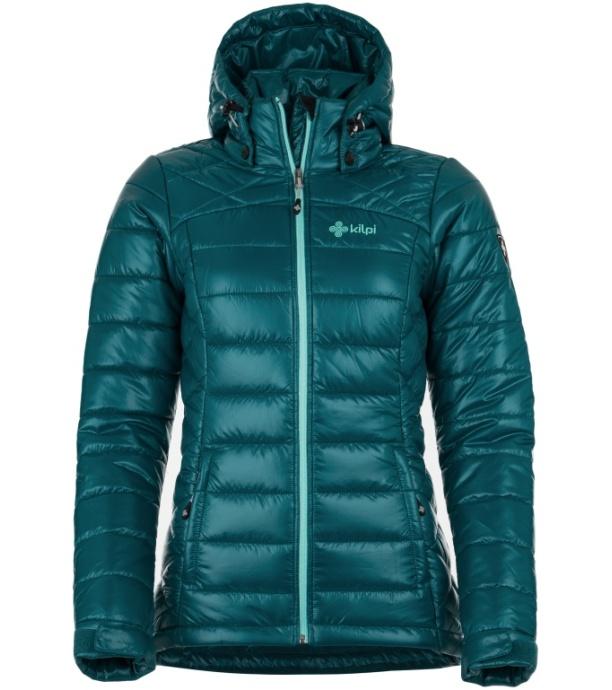 KILPI Dámská zimní bunda GIRONA-W HL0043KIBLU Modrá