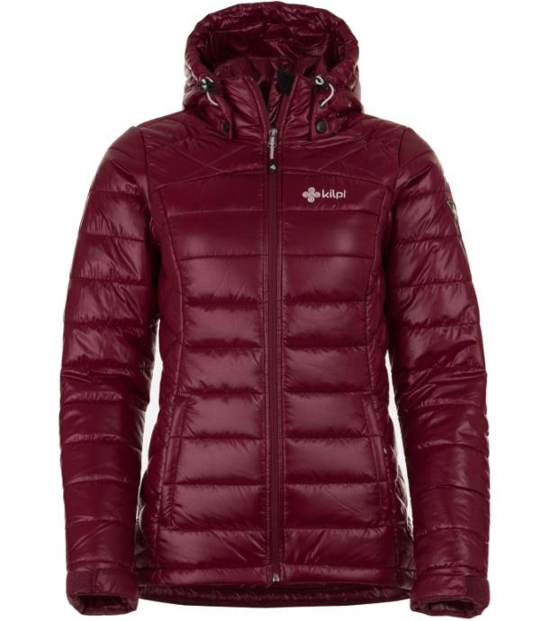 KILPI Dámská zimní bunda GIRONA-W HL0043KIRED Červená