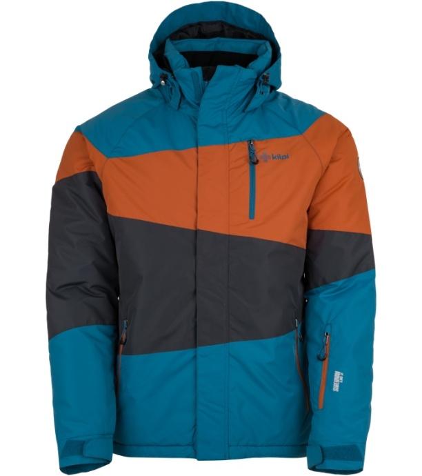 KILPI Pánská lyžařská bunda KALLY-M HM0089KIBLU Modrá