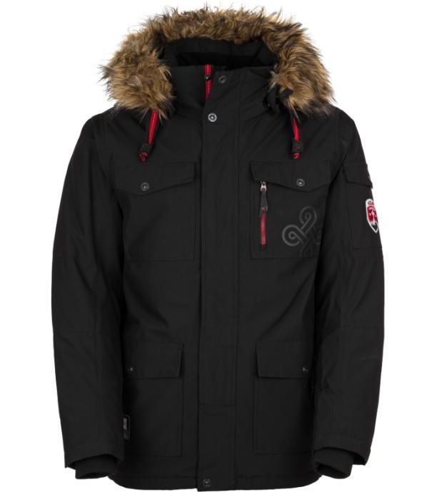 KILPI Pánská zimní bunda PILOT-M HM0109KIBLK Černá M