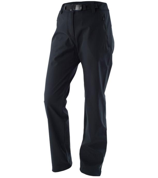 NORTHFINDER JANNIKE Dámské softshellové kalhoty NO-4280OR269 černá S