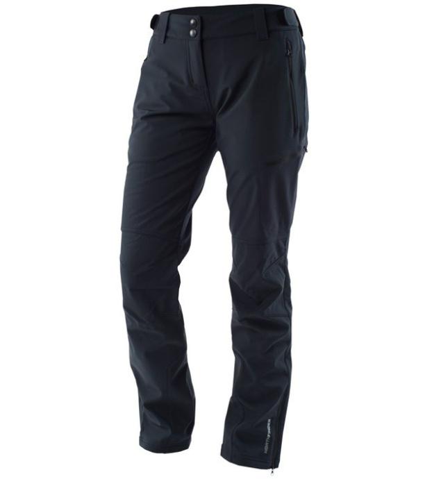 NORTHFINDER HOLLY Dámské softshellové kalhoty NO-4283OR269 černá S