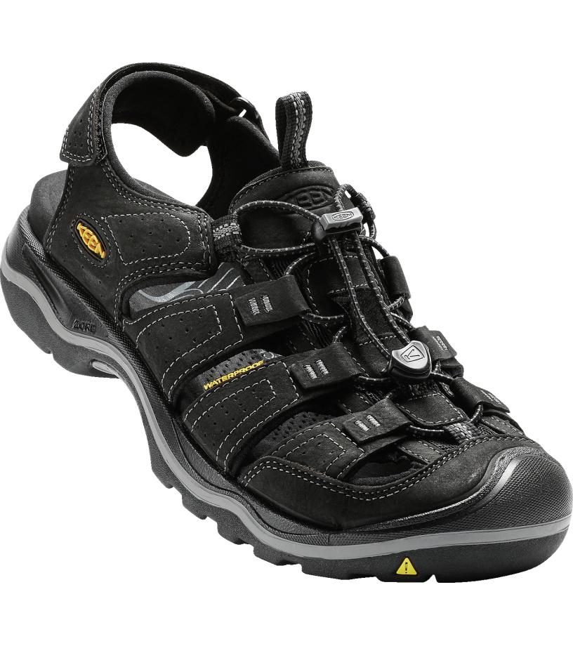 KEEN RIALTO II M Pánské sandály 10005826KEN01 black/gargoyle 8(42)