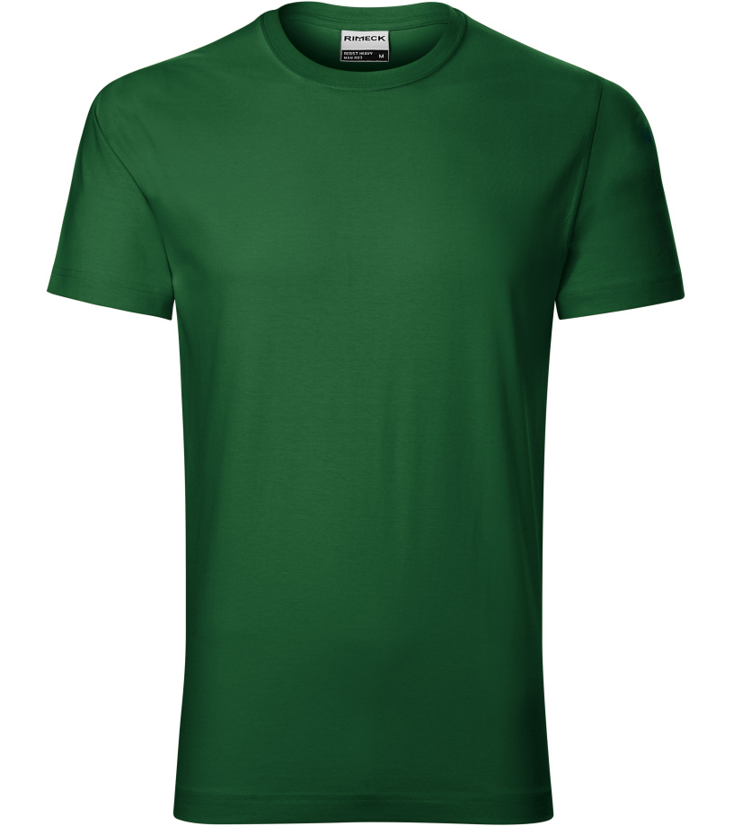 b2267f49cfab RIMECK Resist heavy Pánské triko R0306 lahvově zelená XXL