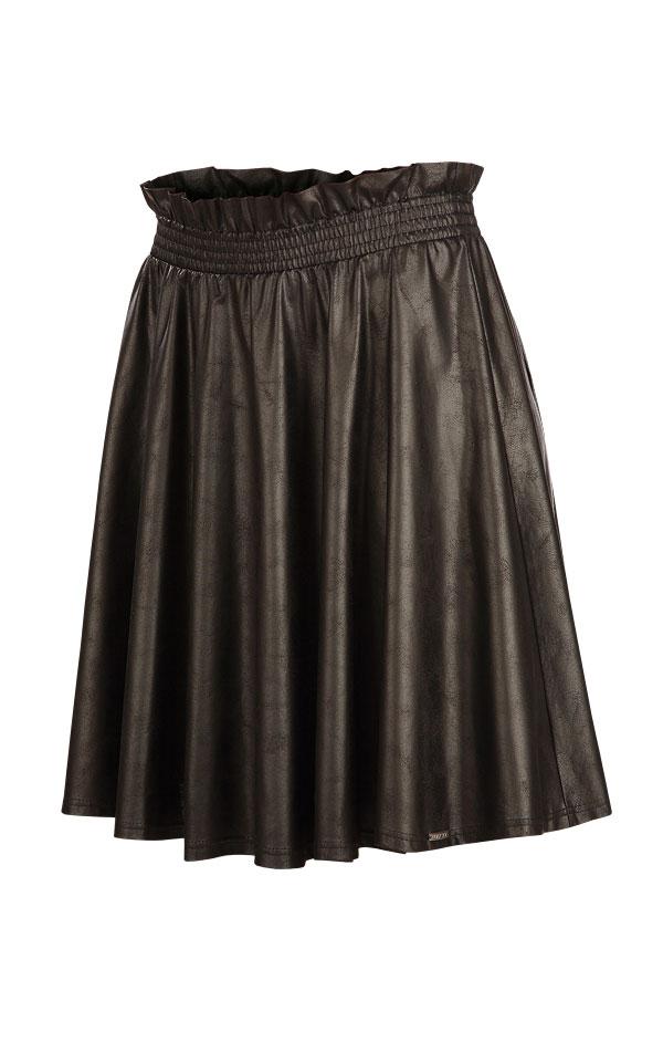 LITEX Sukně dámská do pasu 60078901 černá L