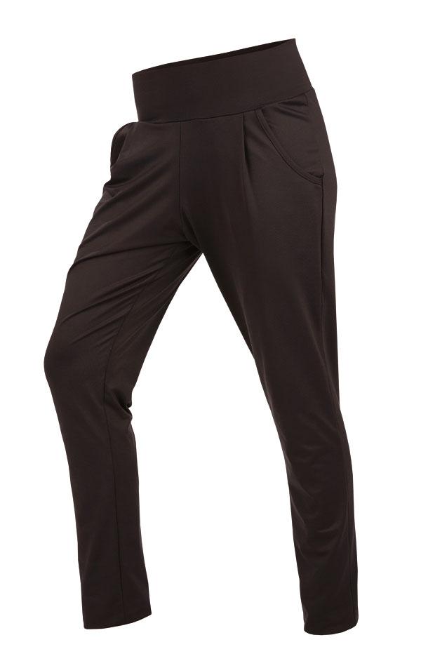 LITEX Kalhoty dámské dlouhé s nízkým sedem 60085901 černá S