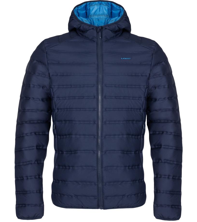 LOAP ITEN Pánská zimní bunda do města CLM1954L13L modrá S