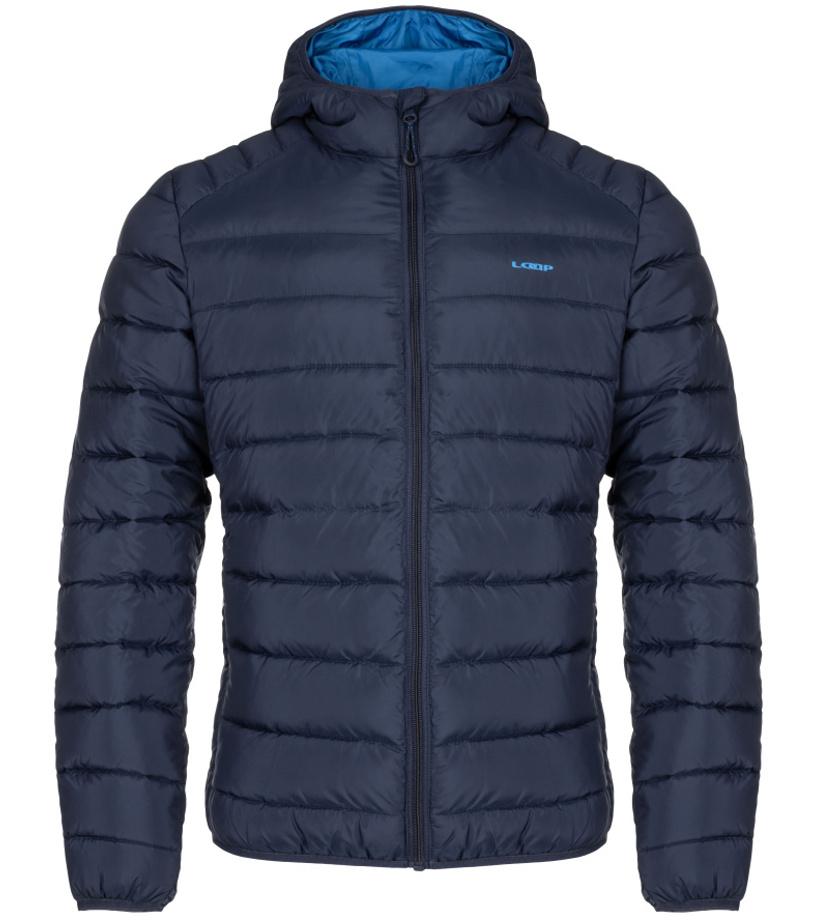 LOAP IRAF Pánská zimní bunda do města CLM1957L13L modrá S