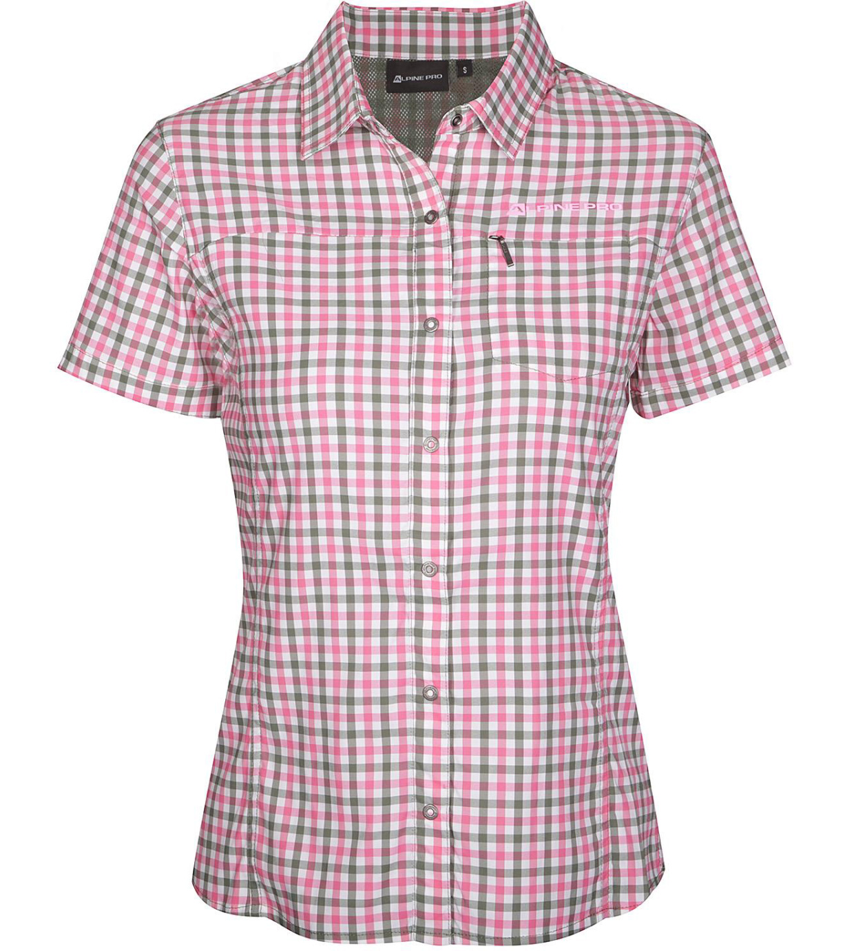ALPINE PRO LURINA 4 Dámské košile LSHR021419 camellia rose XS