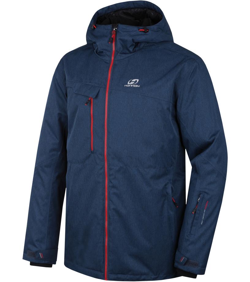 HANNAH SANFORD Pánská lyžařská bunda 10000027HHX01 Dark denim mel XL