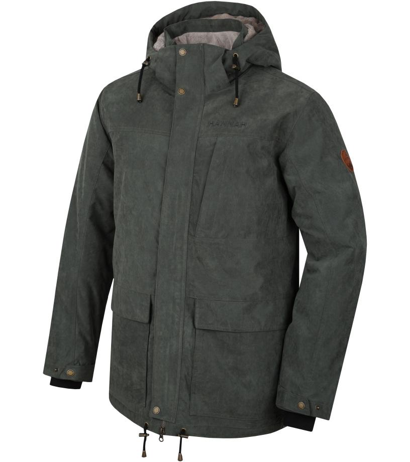 HANNAH LEEDS Pánská zimní bunda 10000038HHX01 Thyme L