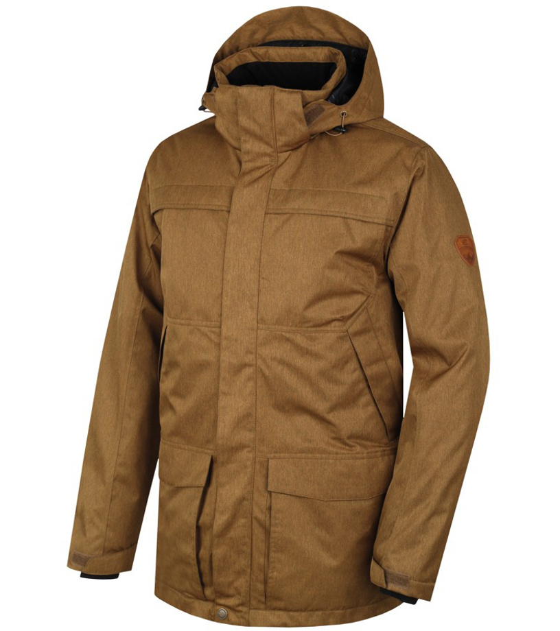 6009bf32e HANNAH GUNNER Pánská zimní bunda 10000044HHX01 wood thrash mel XXXL