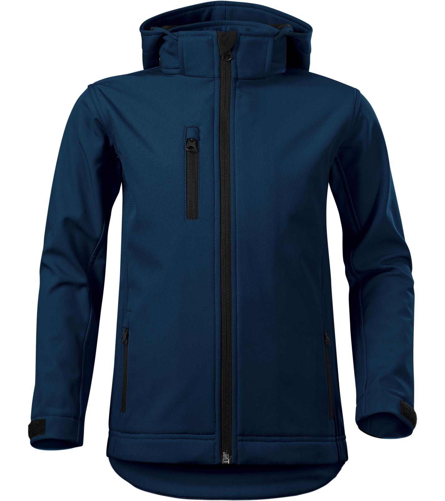 Malfini Performance Dětská softshellová bunda 53502 námořní modrá 134