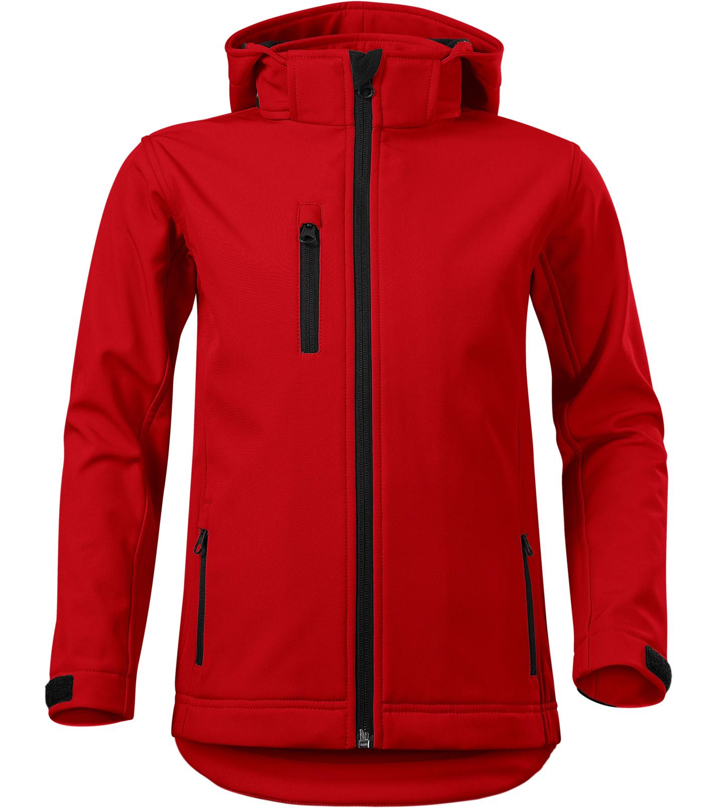 Malfini Performance Dětská softshellová bunda 53507 červená 134
