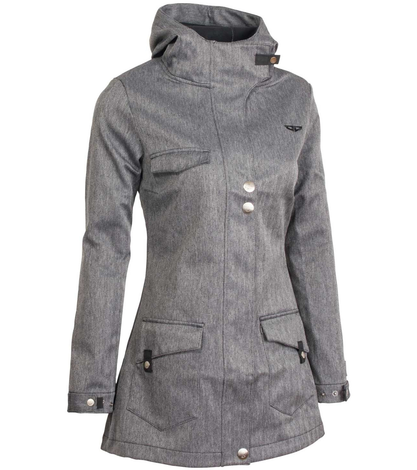 WOOX Kabát Grey Zone Ladies´ Parka Jacket wx1513704 34