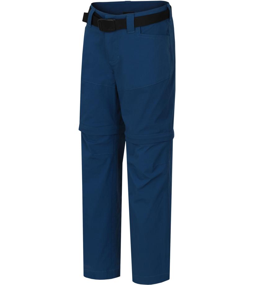 HANNAH TOPAZ JR Dětské outdoorové kalhoty - odepínací 10003154HHX01 Moroccan blue 128