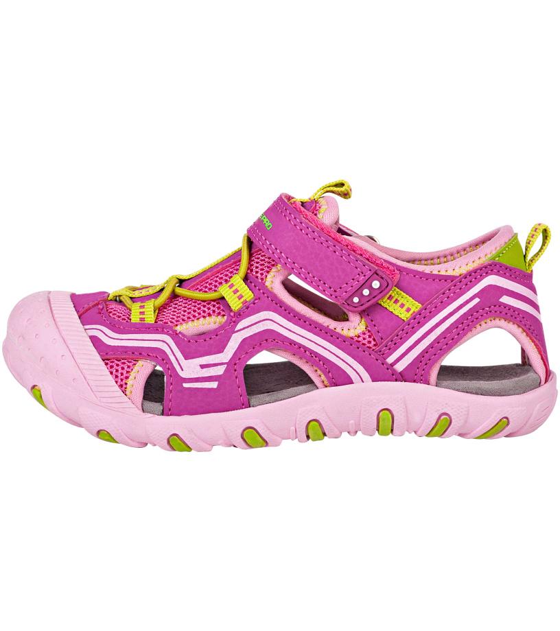 ALPINE PRO CARNEO Dětská letní obuv KBTN191827 Amaranth purple 25 048aaa68a4