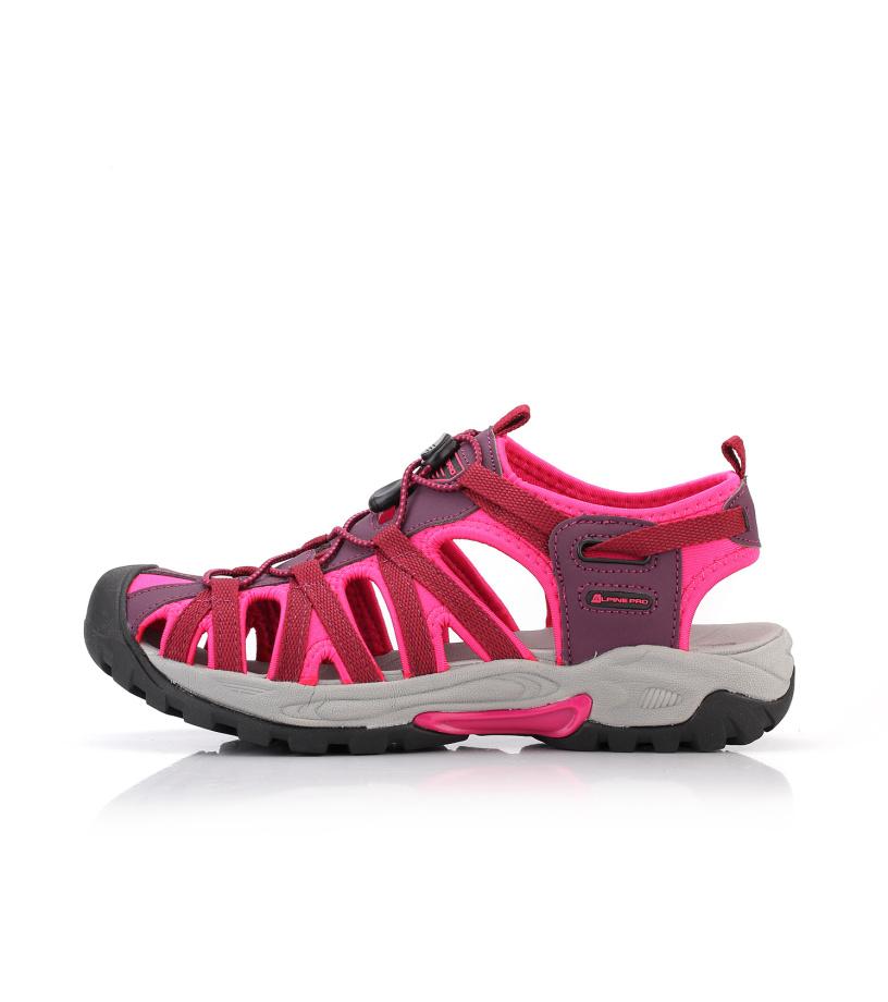 ALPINE PRO LANCASTER 2 Unisex letní obuv UBTN159452 růžová 37