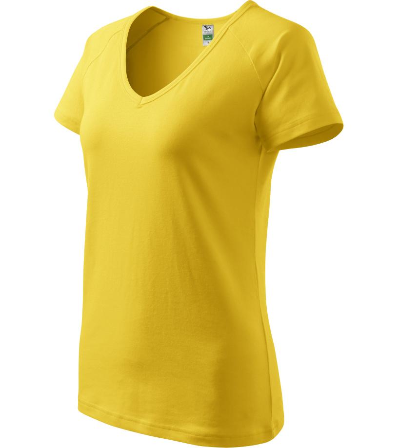 ADLER Dream Dámské triko 12804 žlutá XS