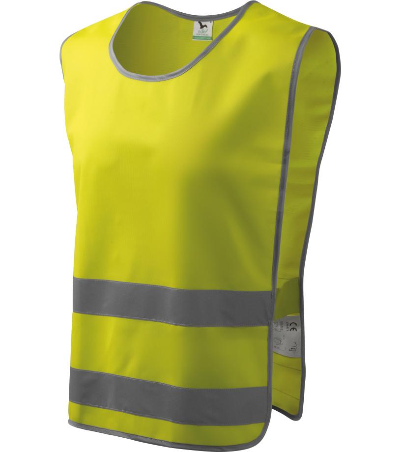 ADLER Classic Safety Vest Bezpečnostní vesta 91097 reflexní žlutá M