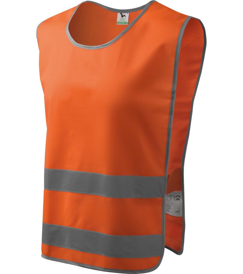ADLER Classic Safety Vest Bezpečnostní vesta 91098 reflexní oranžová