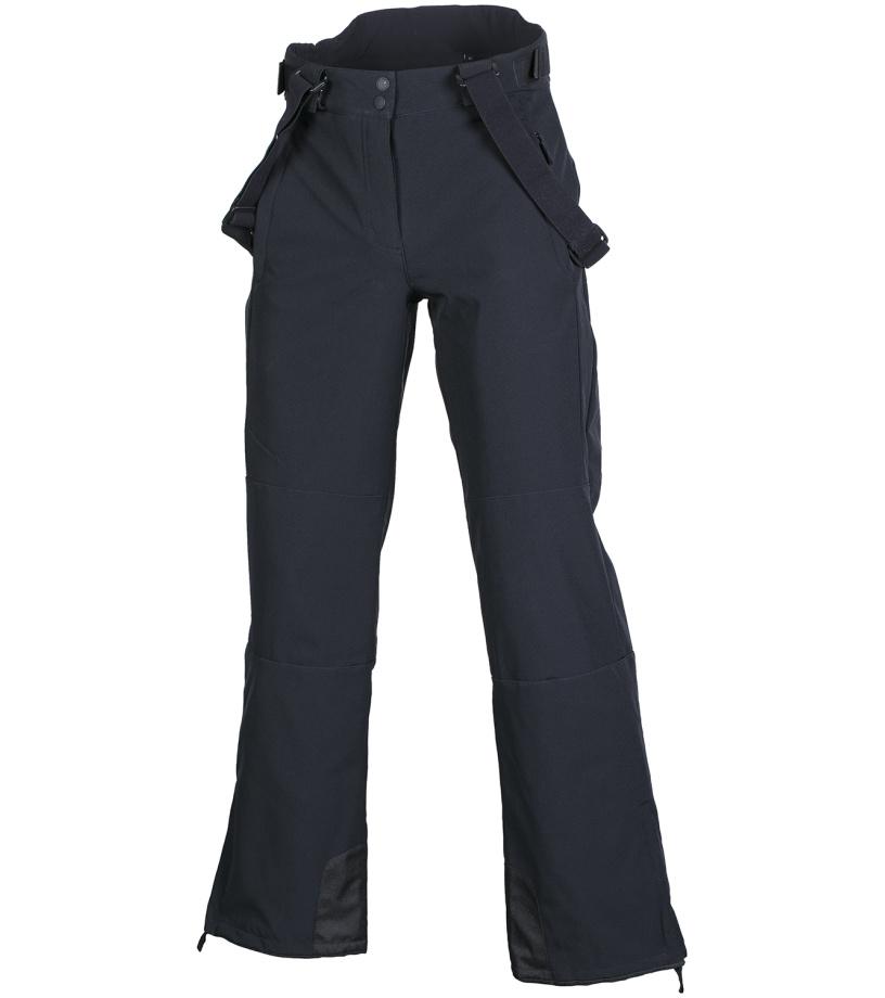 ALPINE PRO NEXA Dámské softshellové kalhoty LPAF118990 černá M