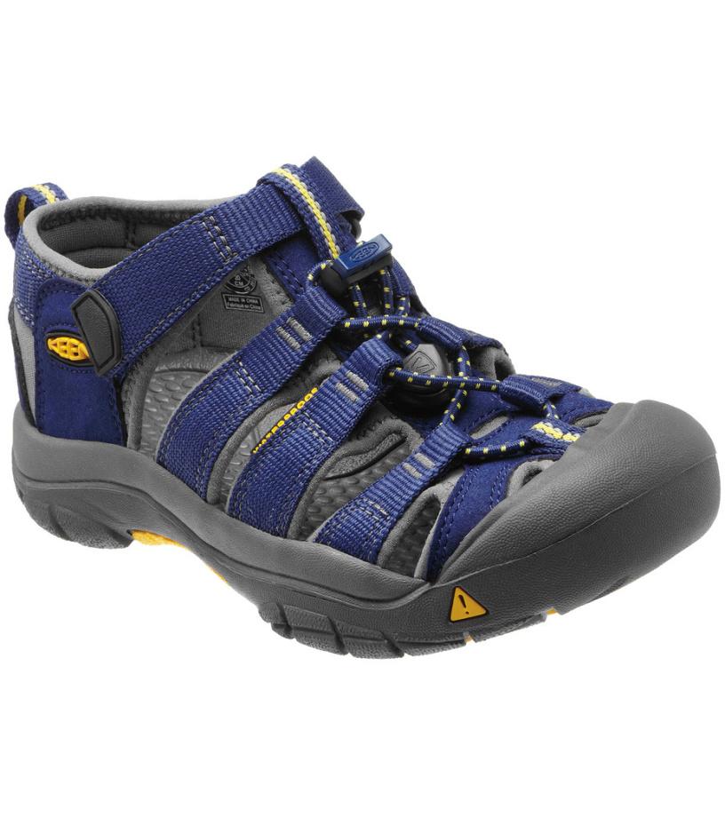 KEEN Newport H2 Jr Dětské sandály KEN1201049625 blue depths/gargoyle 4(37)
